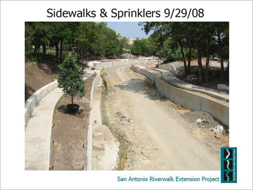 Sidewalks & Sprinklers