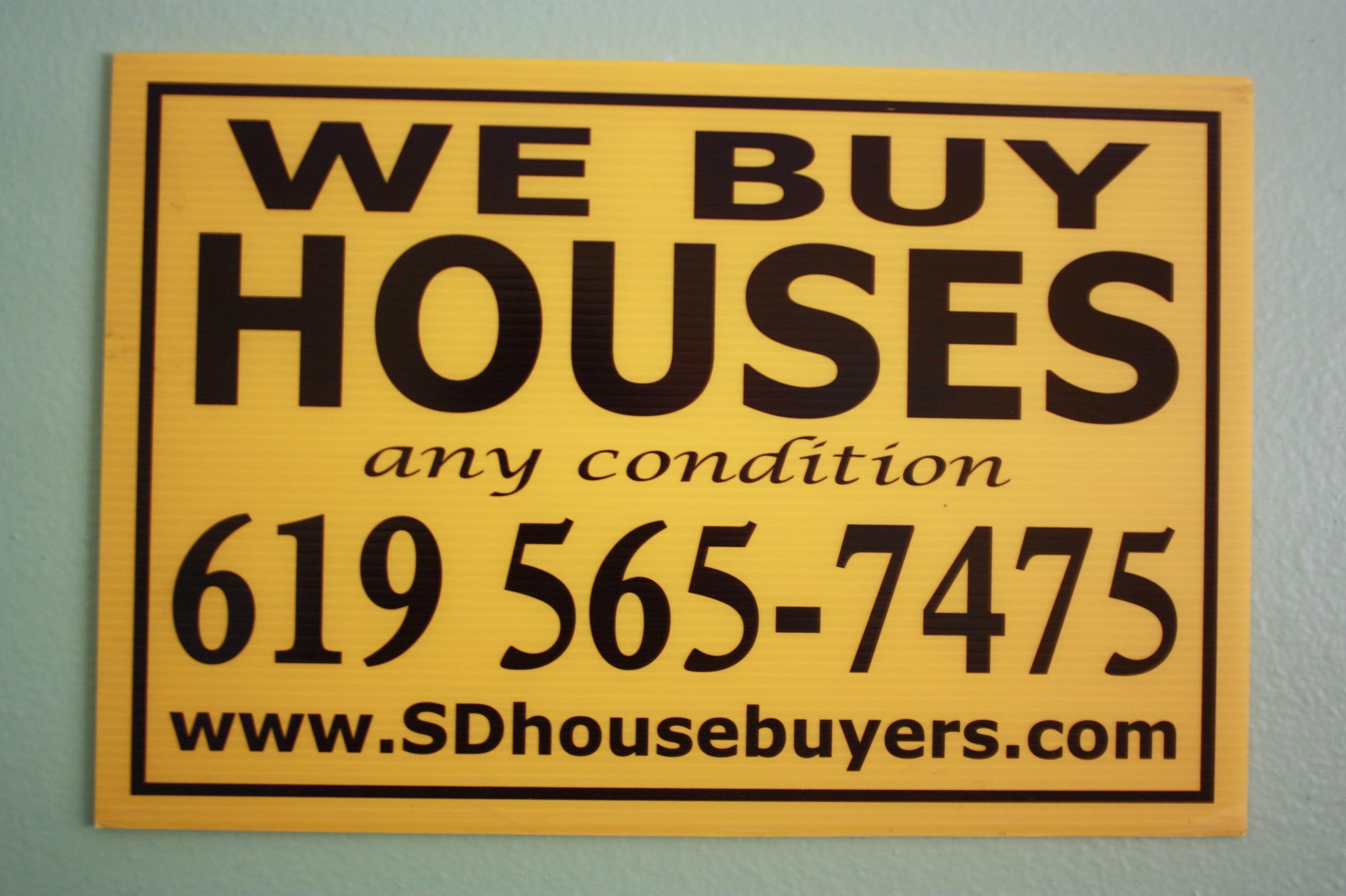 We Buy Houses San Diego, San Diego Homebuyers
