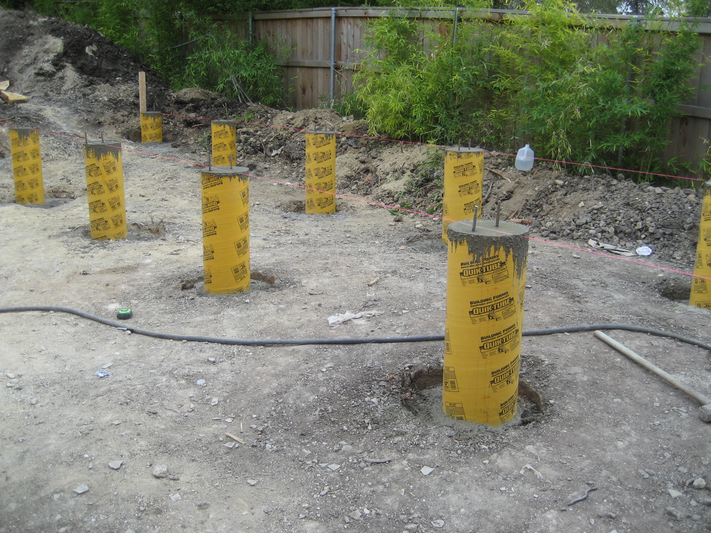 Foundations for The pier foundation