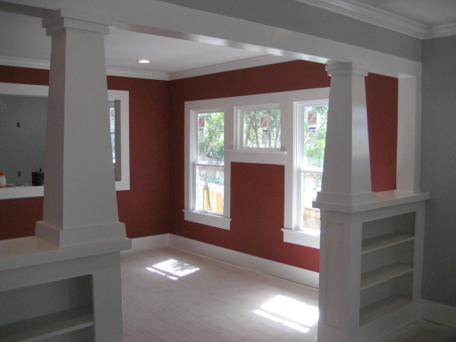 Interior Paint Green Button Homes