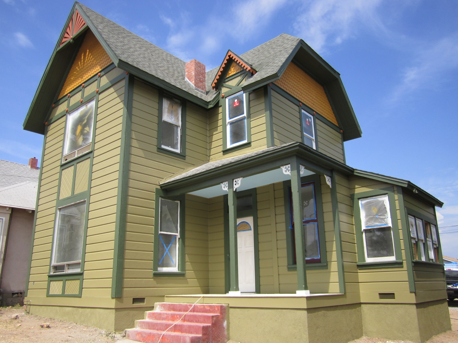 Victorian Historic House Colors | on hampstead house, modern house, bow house,