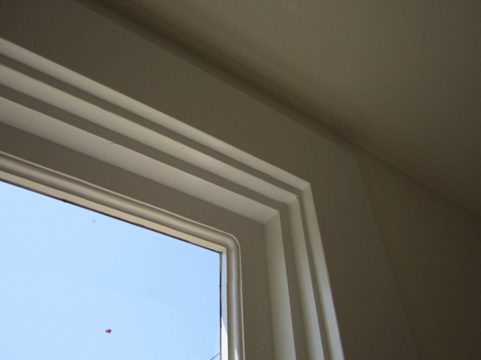 Window casing for Mid century modern interior window trim