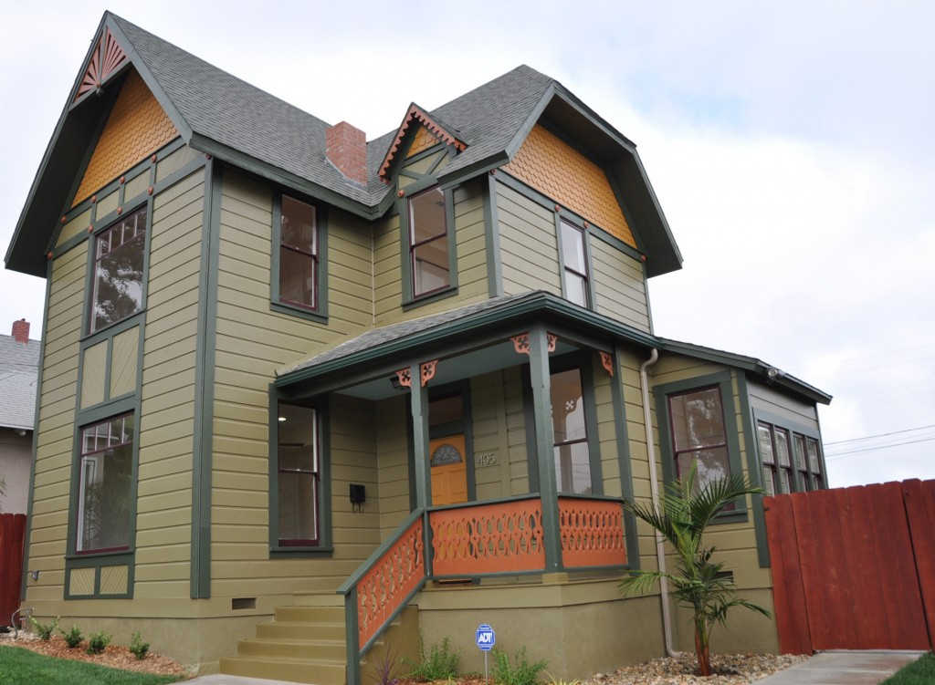 Exterior paint for Exterior painted houses photos