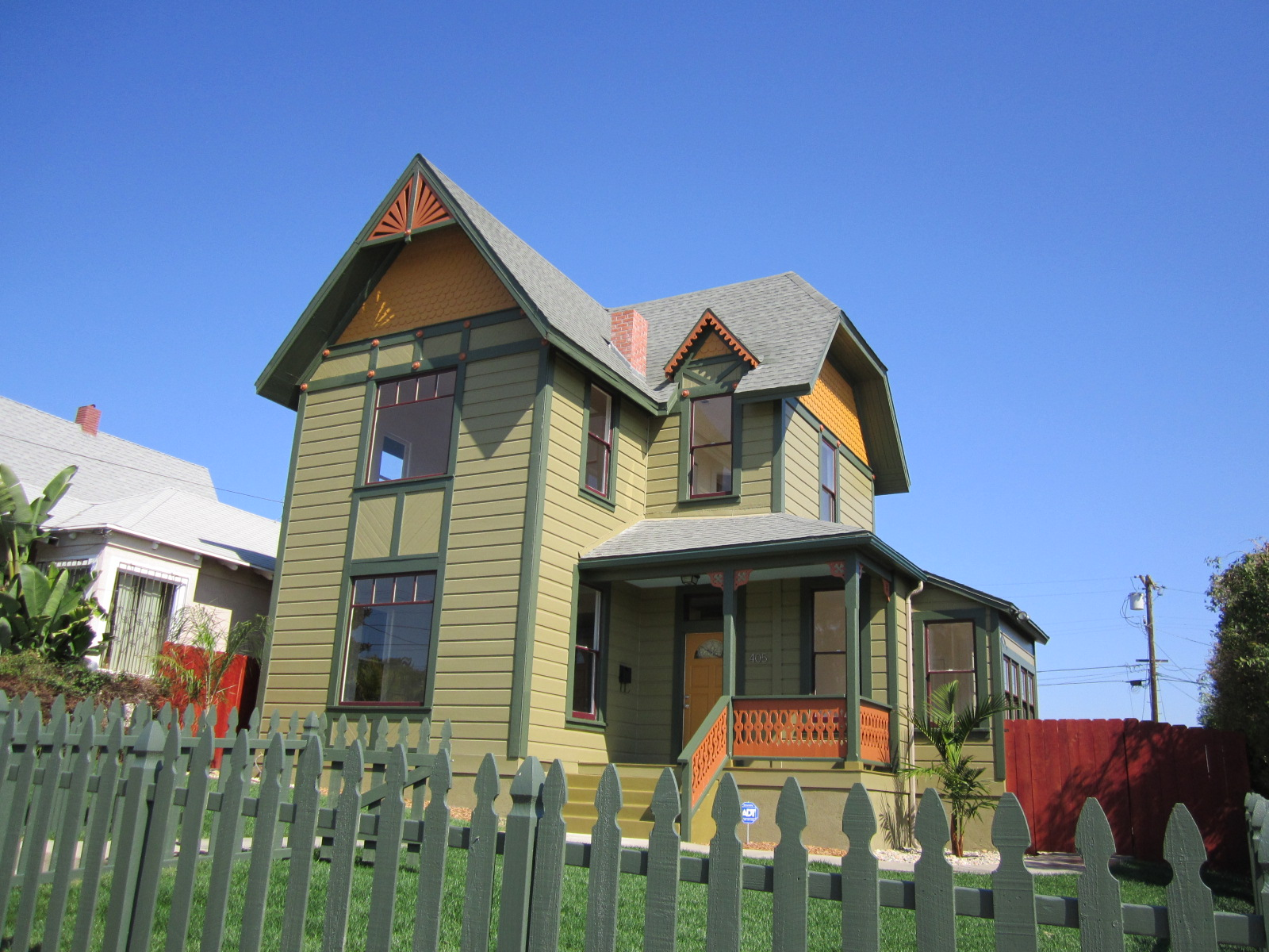 Painted Lady | Green Button Homes