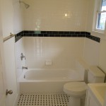 White ceramic bath tile