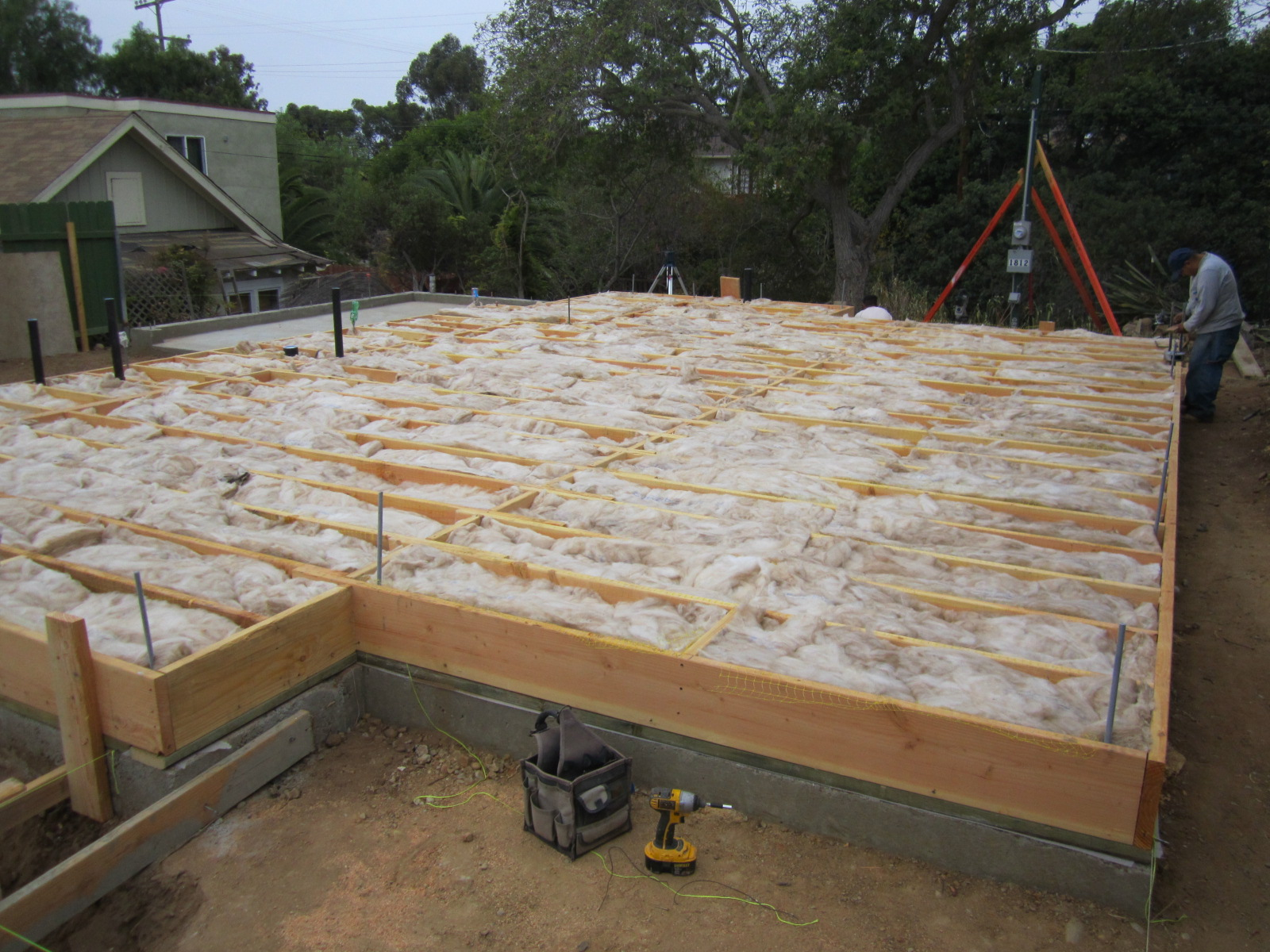 Insulation Green Button Homes