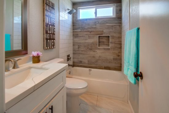 Bathroom remodel Green Button Homes