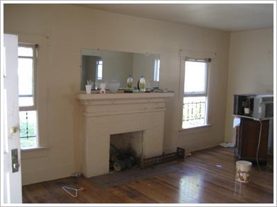 Craftsman Before Living Room