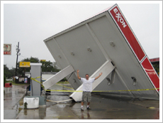 Hurricane Ike Exxon