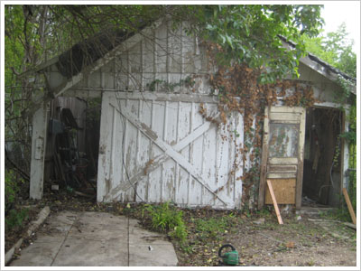 Target Shed Before