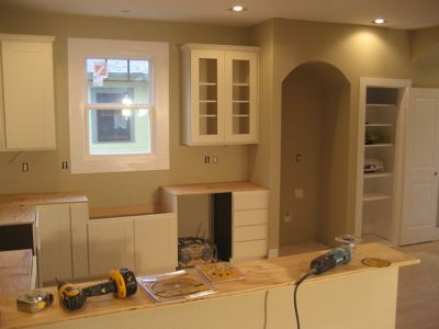 Paint, Cabinets and Granite