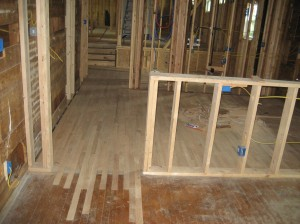 Installing Red Oak Hardwoods