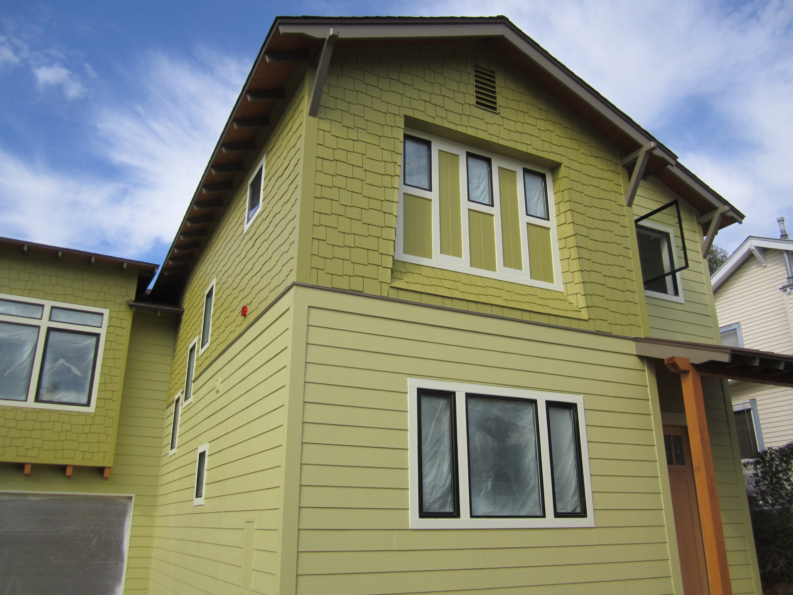 Color Me Mod Green Button Homes New Construction