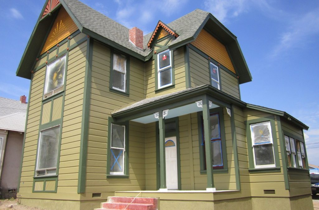 Victorian House Colors